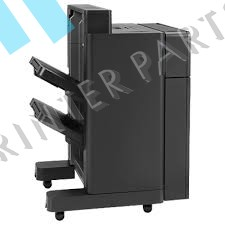 A2W82A LaserJet Stapler Stacker with 2-4 Hole Punch for M855 M880