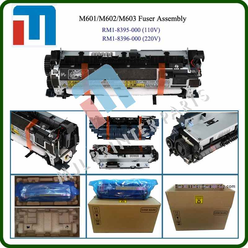 Fuser assembly for HP M600 M601 M602 M603 RM1-8395-000 RM1-8396-000 Fuser unit